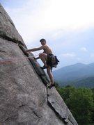 Rock Climbing Photo: Having fun on the Nose