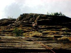 Rock Climbing Photo: Having fun on Son of Easy O