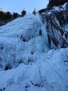 Rock Climbing Photo: Having fun on Roaring Brook