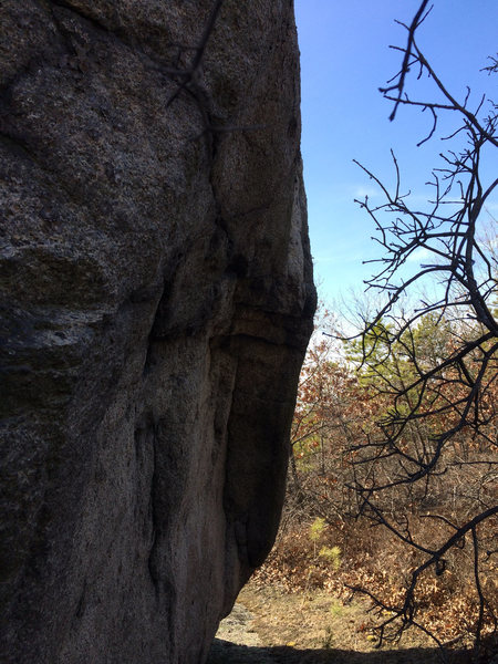 Rock Climbing Photo: Promised Land Boulder.