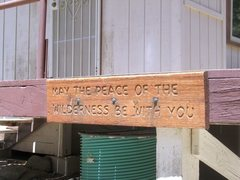 """Rock Climbing Photo: """"May the peace of the wilderness be with you&..."""