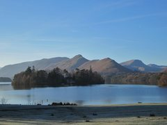 Rock Climbing Photo: Catbells and Robinson Mt's