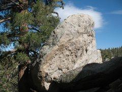 Rock Climbing Photo: Morgan Boulder, Tramway