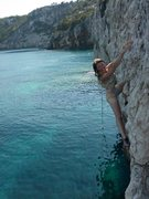 Rock Climbing Photo: Ionian Sea bouldering.