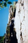 Rock Climbing Photo: Having fun on Skyline Traverse