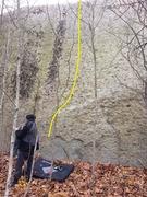 Rock Climbing Photo: Snarf.