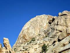 Rock Climbing Photo: The Super Dome from just beyond Willow Hole. The G...