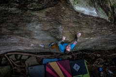 Rock Climbing Photo: This problem is a hidden gem for sure. Thanks for ...