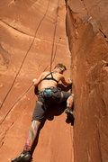Rock Climbing Photo: Alana gettin' a workout