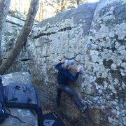Rock Climbing Photo: Shotgun
