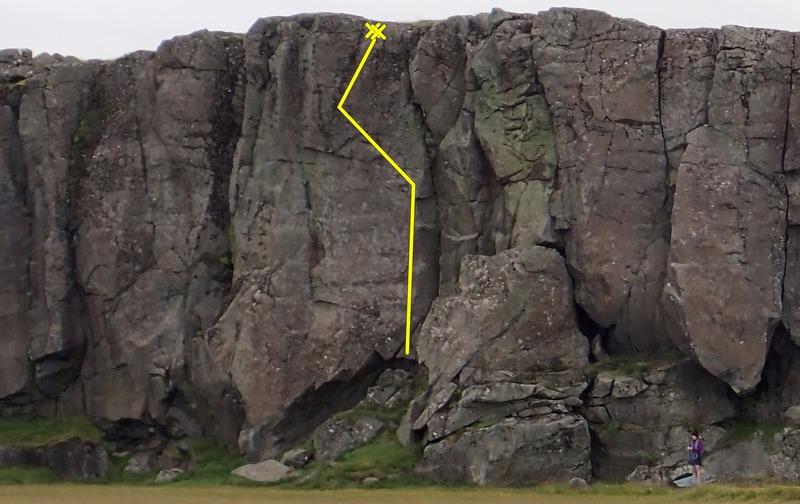 Þetta eru asnar Guðjón, 5.11a