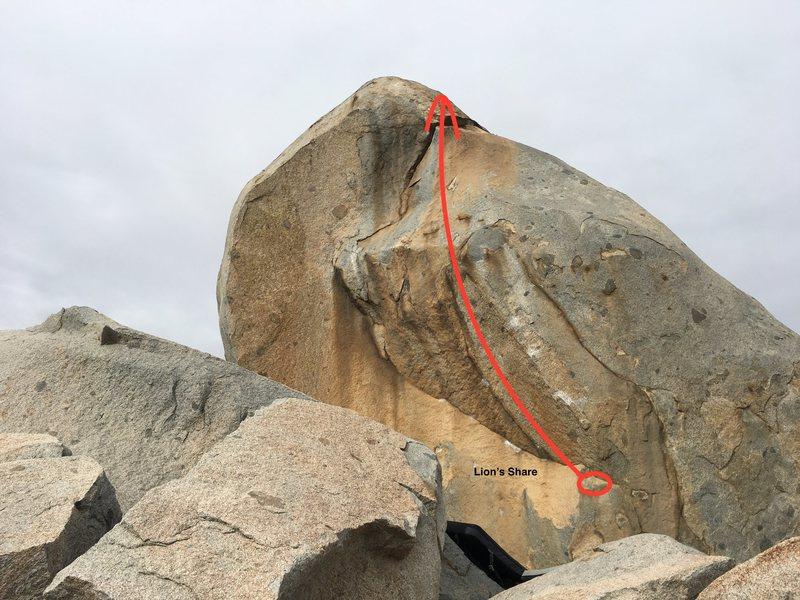 Rock Climbing Photo: Lion's Share