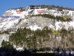 Rock Climbing Photo: Mt Willard Lower East Face