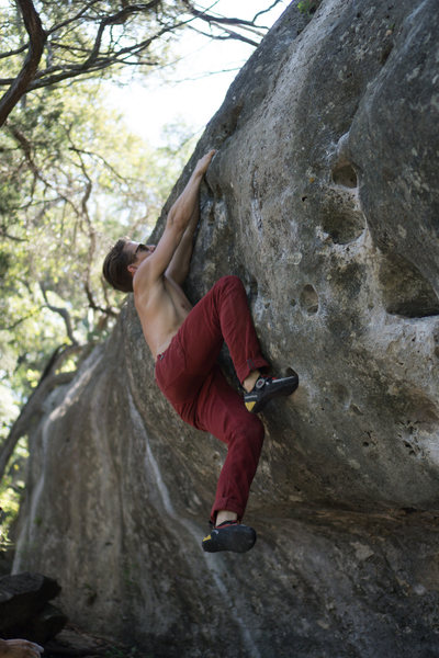 Rock Climbing Photo: Abash top out