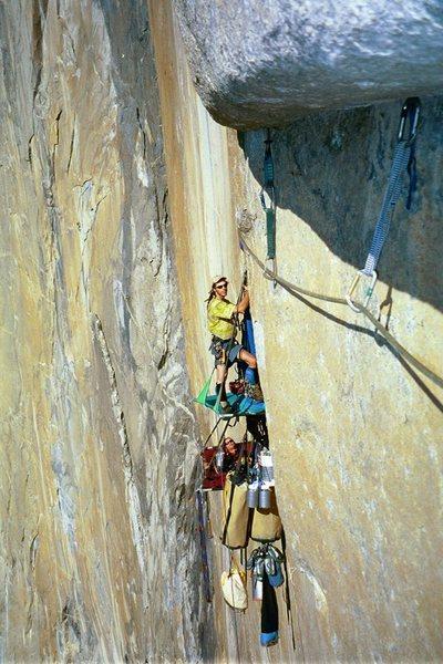 Rock Climbing Photo: Vertical Camping