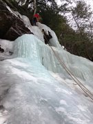 Rock Climbing Photo: A Drip in the Woods (the route, not the climber).