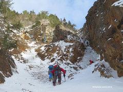 Rock Climbing Photo: Shoestring