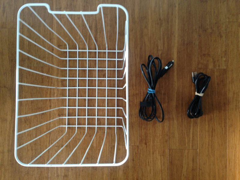 Internal basket and two power cords