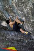 Rock Climbing Photo: Working Señor Fuerte