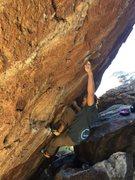 Rock Climbing Photo: Hector in a Blender sending