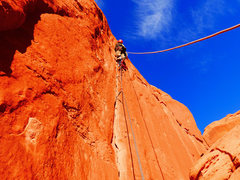 Rock Climbing Photo: Start of Serendipity (which we climbed C1).