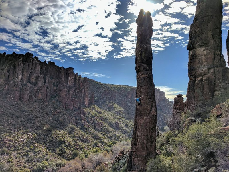Totem Pole, Lower Devils Canyon