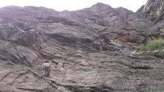 Rock Climbing Photo: Gully wall (lower)