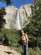 Rock Climbing Photo: Yosemite Falls