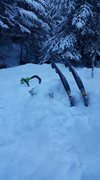 tools in snow