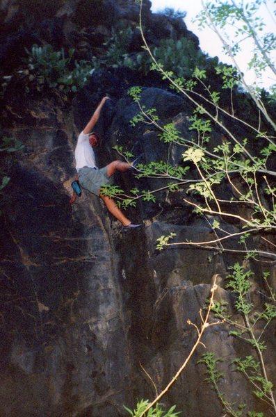 Touqerville Bouldering, Ash Creek, V3