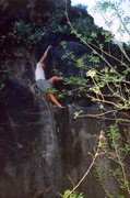 Rock Climbing Photo: Touqerville Bouldering, Ash Creek, V3
