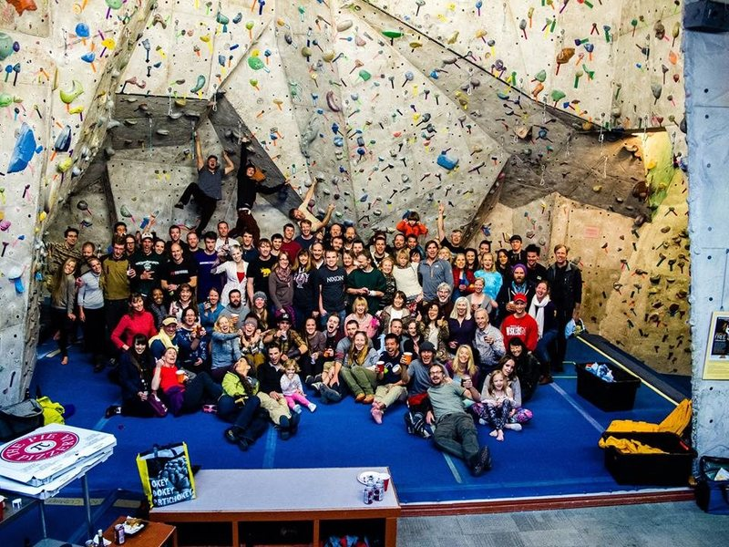 Rock Climbing Photo: Rockreation SLC last day end of March 2014