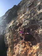Rock Climbing Photo: Boy Georange