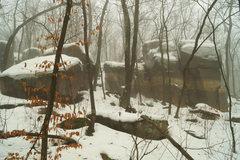 Rock Climbing Photo: The Reserve, no crowds