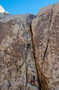 Rock Climbing Photo: Timothy Howland leading with Karlo Pacheo on belay...