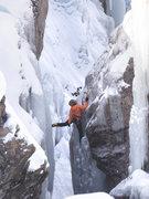 Lower Bridge Area, unnamed climber.