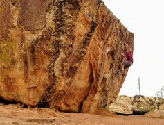 Rock Climbing Photo: Huntsman Graffiti