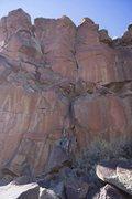 Rock Climbing Photo: Welcome to Utopia 5.10a