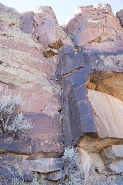 Rock Climbing Photo: Brown Berets 5.7 Trad