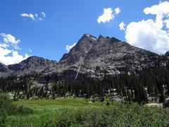 Rock Climbing Photo: Fool's Peak.