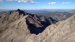 Rock Climbing Photo: The Finnegan to Gold Dust traverse. Note the tower...