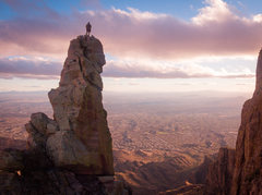 Rock Climbing Photo: Photo by Michael Heiland I stand on the teetering ...