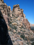 Rock Climbing Photo: Location for Lake Mead Exotic Plant Control Crew