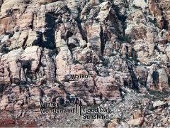 Rock Climbing Photo: starts to Good Day Sunshine and Winter Wonderland