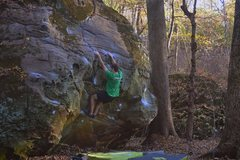 Rock Climbing Photo: Sweet as man v5.
