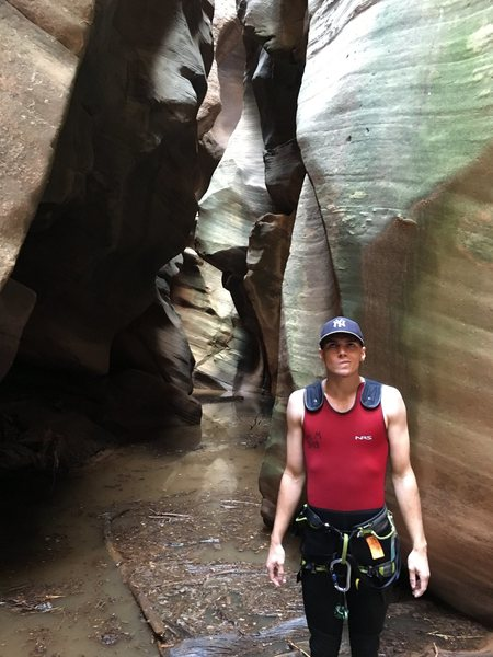 Rock Climbing Photo: Canyoneering