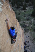 Rock Climbing Photo: Redpoint crux