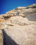 Rock Climbing Photo: Fun, easy routes on the Schoolhouse Rock