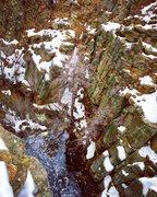 Rock Climbing Photo: The narrows after a big storm
