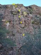 Rock Climbing Photo: Officer Flossie beta